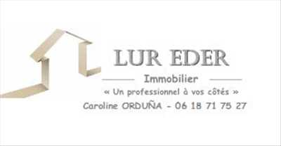 Exemple Agent immobilier independant n°393 zone Pyrénées Atlantiques par LUR EDER IMMOBILIER